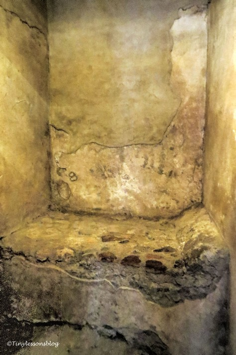 bedroom in Pompeii