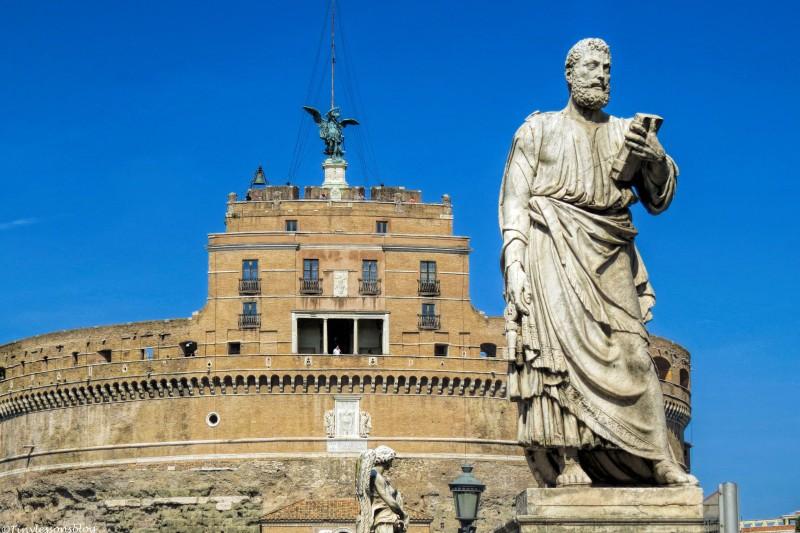 castel st Angelo Rome
