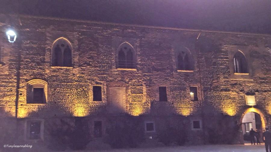 castello Visconteo at night Milan