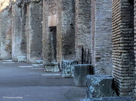 colosseum base level Rome