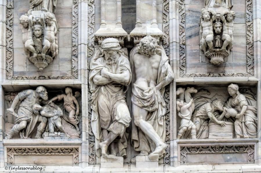 detail 2 of Duomo MIlan
