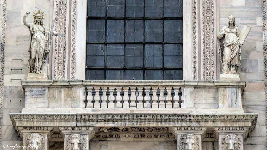 detail of Duomo MIlan