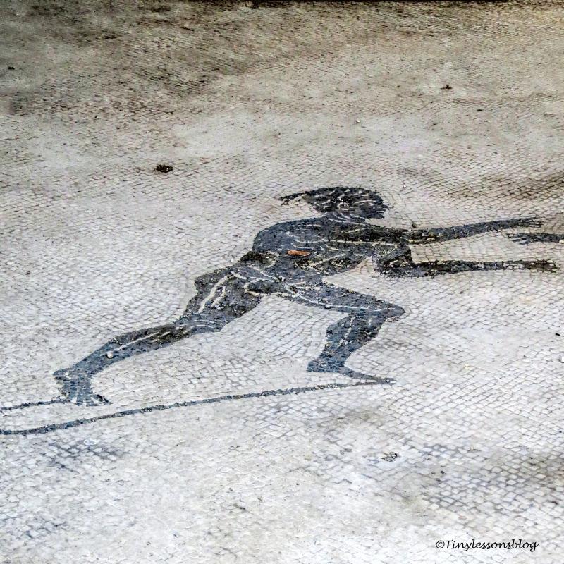 floor mosaic Pompeii