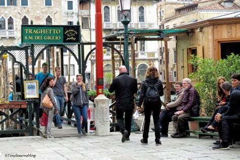 gondola station in Venice