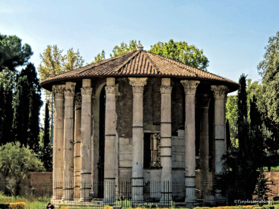 old ruins in Rome