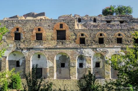 outer walls Pompeii