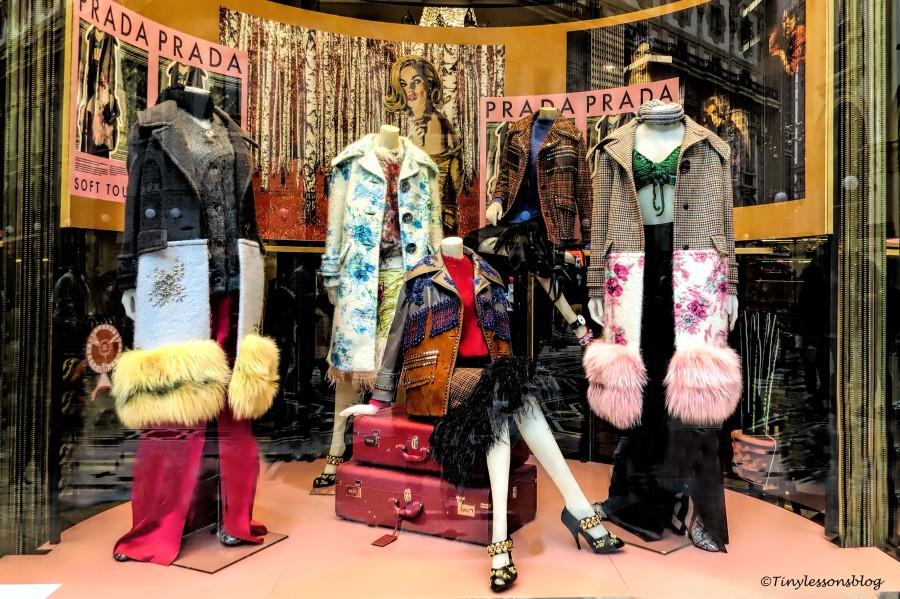prada fashions Milan