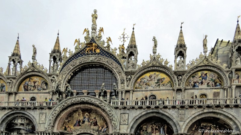 the horses of st Mark Basilica cavalli di san marco venice