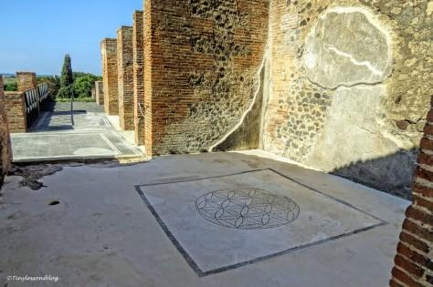 view of house interior Pompeii