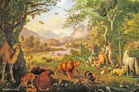 Wenzel Peter Adam and Eve in the Garden of Eden Vatican Museum Rome