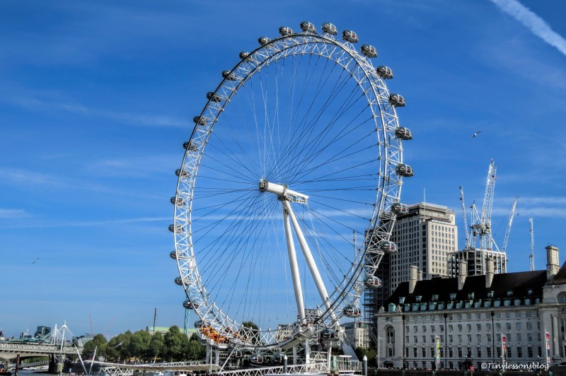 the London Eye ud142