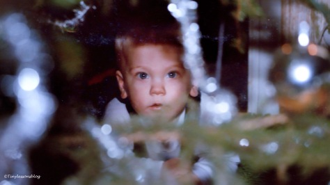 MJ first Christmas