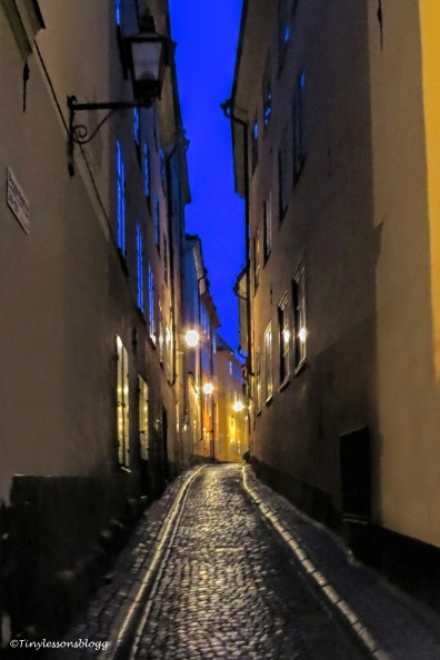 An alley in the Old Town UD146