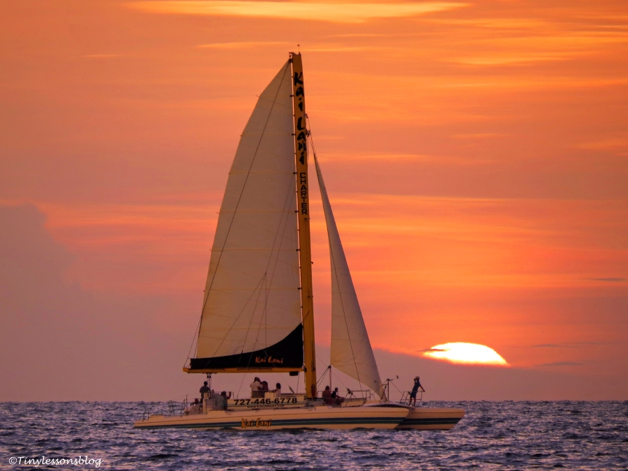 sailboat at sunset UD156