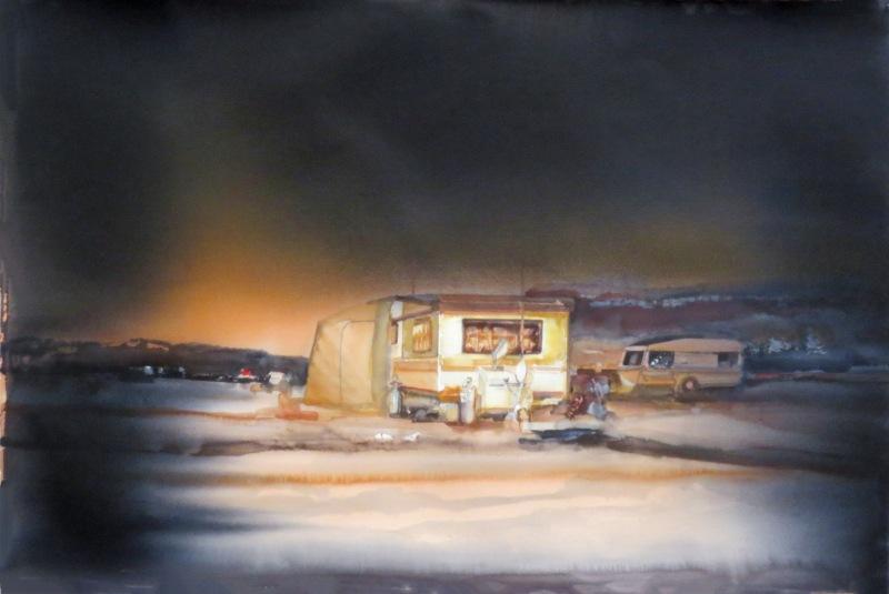 Caravan by Lars Lerin ud168