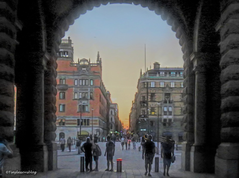 from gamla stan till city ud164 painted