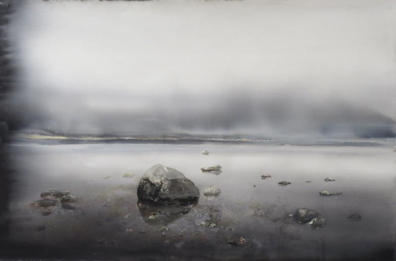Lars Lerin lake in Lofoten ud168