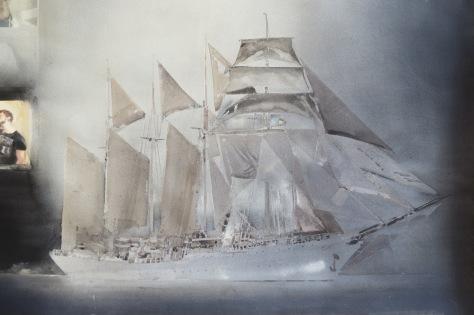 Lars Lerin Sailing Boat ud168