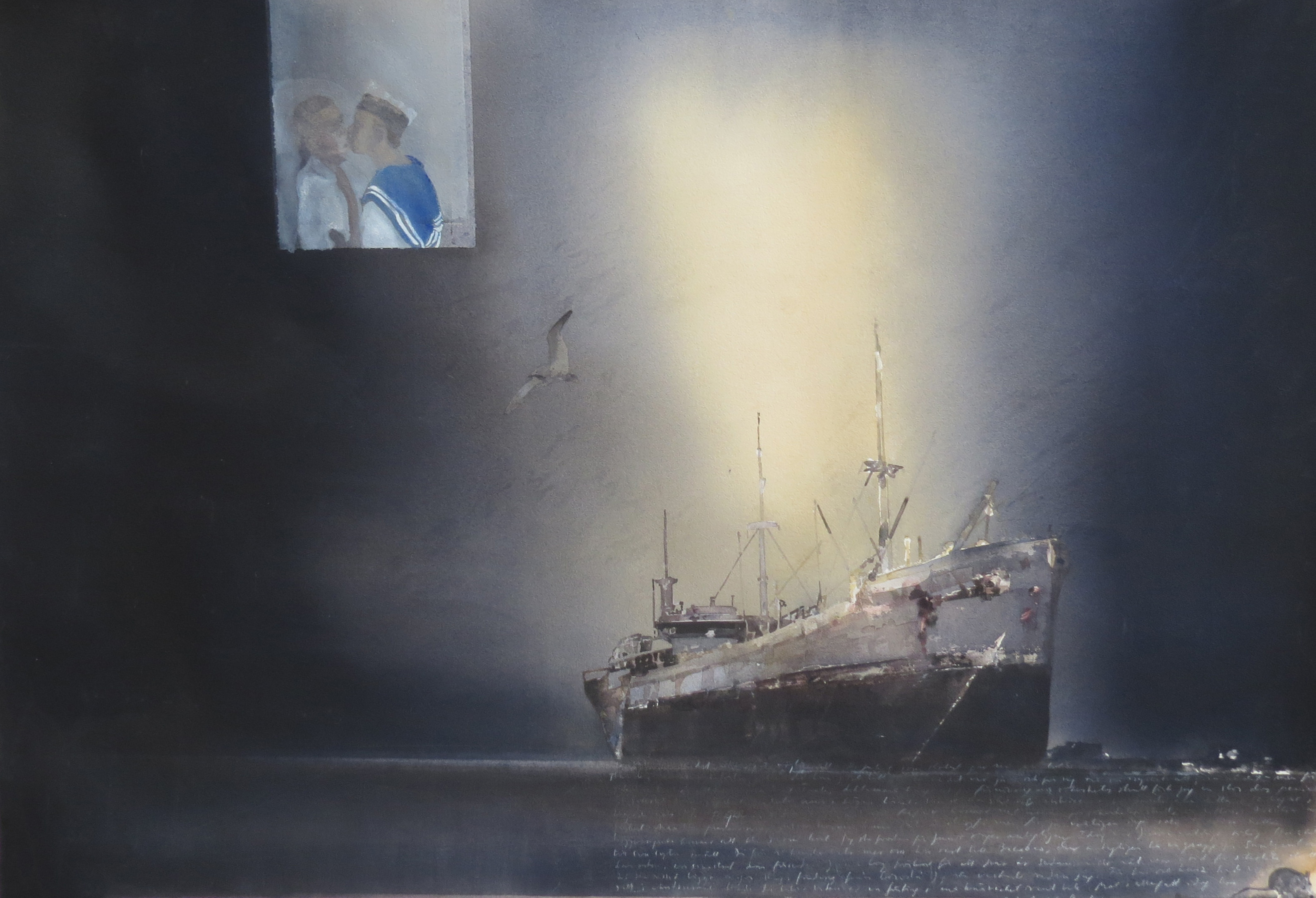 Lars Lerin Sailor ud168
