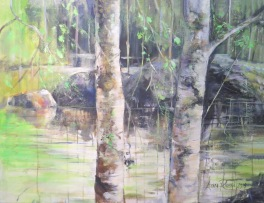 summer forest Leena Raussi LR ud169