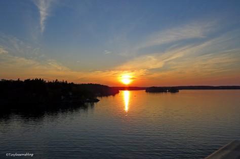 sunset at Baltic sea ud169